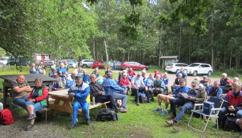Samling för att lyssna på Gun Henriksson om Skedhultsområdet
