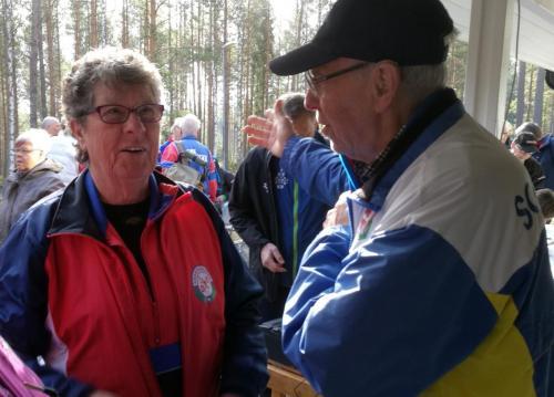 Kalle och Birgitta i samspråk