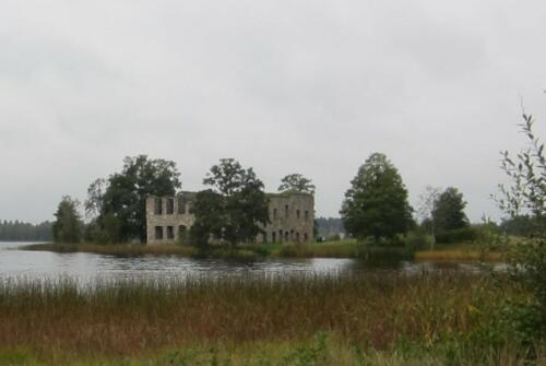 Eksjöhofgårds slottsruin