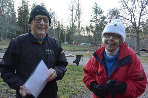 Två riktiga veteraner som båda passerat de 90-åren